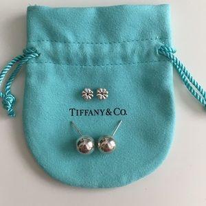 Tiffany & Co. Sterling Silver 10mm Ball Earrings